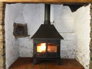 Finally the Stove is fully tested and commissioned.